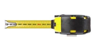 год ленты измерения принципиальной схемы Стоковое фото RF