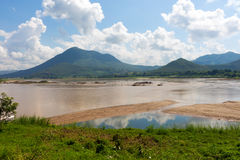 15,2015 -го ноябрь в Loei, Таиланде положение o туристической достопримечательности Стоковые Фото