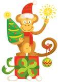 Год обезьяны Стоковое Изображение