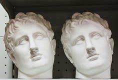 Голова гипсолита Стоковая Фотография