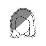 Голова женщины безликая иллюстрация штока