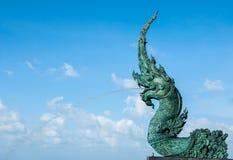 голова змея моря Стоковые Фото