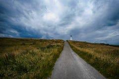 Голова и маяк Flamborough Стоковые Изображения