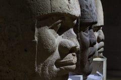 Голова камня Olmec стоковое изображение rf