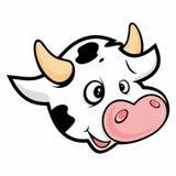 Голова коровы Стоковая Фотография