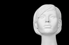 Голова манекена женщины Стоковые Изображения