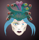 Голова Медузы Стоковое Изображение