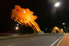Голова моста дракона Стоковое Фото