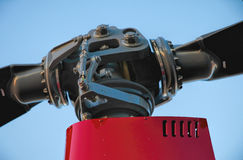 Голова несущего винта вертолета Стоковое Фото