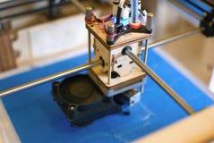 голова печатания 3D Стоковое Изображение