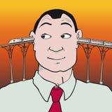 Голова поезда Стоковая Фотография RF