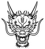 Голова дракона Стоковое Изображение