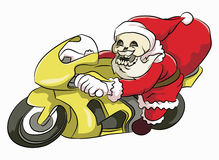 Голова Санта Клаус косточки Стоковые Изображения RF