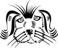 Голова собаки Стоковые Изображения