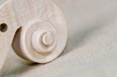 голова текстуры скрипки и древесины Стоковое Изображение RF