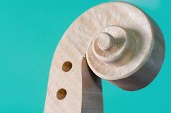 голова текстуры скрипки и древесины Стоковое Изображение