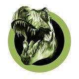 Голова тиранозавра стоковая фотография
