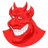 Голова дьявола Стоковая Фотография RF