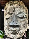 Голова Buddhas в Чиангмае стоковая фотография rf