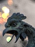 Голова ` s статуи ` s дракона в старом замке Trsat Стоковые Изображения