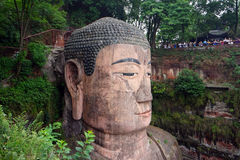 головка Будды Стоковая Фотография RF