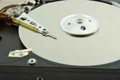 Головка для магнитной записи жесткого диска Стоковое Изображение RF