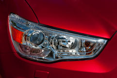 Головная лампа автомобиля Стоковое фото RF