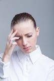 Головная боль Стоковые Изображения RF