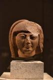 Головная статуя древнего египета стоковая фотография
