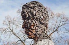 головное деревянное Стоковое фото RF