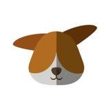 головное домашнее животное собаки Стоковое Фото
