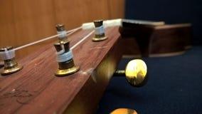 Головной и настраивая ключ гавайской гитары Стоковые Фотографии RF