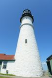 головной маяк Мейн portland Стоковые Фотографии RF