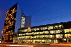 Головной офис Swedbank, Вильнюса Стоковые Фотографии RF