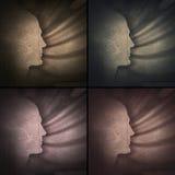 Головной профиль Стоковое Фото