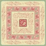 Головной платок Пейсли дизайна Стоковые Фотографии RF
