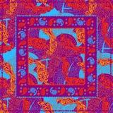 Головной платок Пейсли дизайна Стоковое фото RF