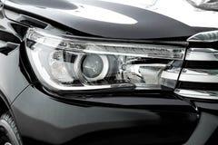 Головной свет грузового пикапа Стоковые Изображения RF