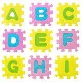Головоломка алфавита Стоковое Фото