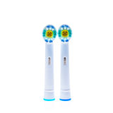 Головы замены электрической зубной щетки с кольцами цвета Стоковые Фотографии RF