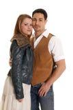 Головы куртки и жилета пар совместно Стоковое Изображение