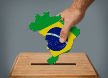 Голосование руки Стоковое Изображение RF