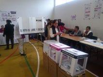 Голосования женщины в Мексике Стоковое Изображение RF