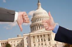 Голосуя руки в Вашингтоне d C Стоковая Фотография