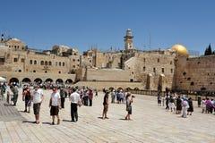 Голося стена - Израиль Стоковые Фото