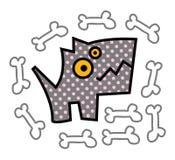Голодная собака Стоковая Фотография