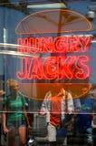 Голодное Джек Стоковая Фотография