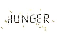 голод стоковые фото