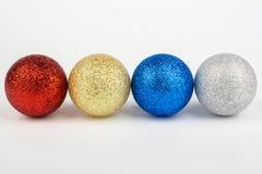 год рождества 2007 шариков Стоковое фото RF