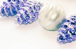 год рождества 2007 шариков стоковая фотография rf